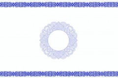 蒙古图案ppt背景2